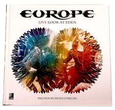 EUROPE - Live Look At Eden  (earBook+2-CD+DVD) BUCH