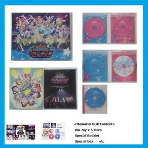 USED-Love-Live-Sunshine-Aqours-First-live-Step-ZERO-to-ONE-Blu-ray-Memorial-BOX