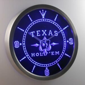 nc0458-b-Texas-Hold-039-em-Poker-Casino-Neon-Sign-LED-Clock