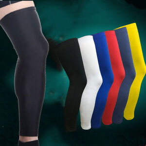 Sports-Leg-Calf-Support-Stretch-Sleeve-Compression-Socks-Running-Basketball-New