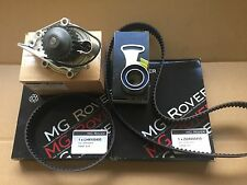 GENUINE MG ROVER 200 25 MGF MGTF VVC TIMING BELT KIT + WATER PUMP 1.8 1800 MG TF