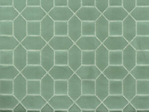 Discount-Fabric-Richloom-Upholstery-Drapery-Linen-Hyde-Mint-Jacquard-NN41