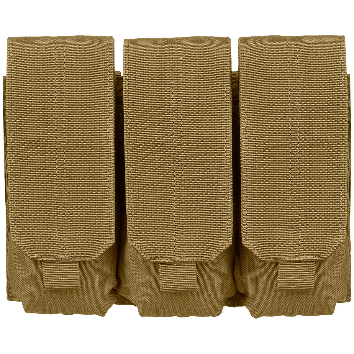 Condor Army Combat Triple Mag Ammo Pouch Tactical MOLLE Case Coyote Brown