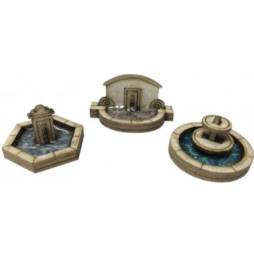 Stein Brunnen Set Mini Kit Karte Set Metcalfe pn823