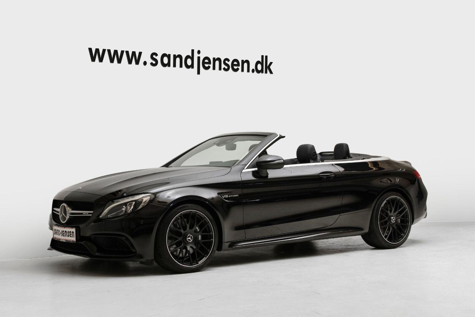 Mercedes C63 4,0 AMG Cabriolet aut. 2d - 1.099.900 kr.