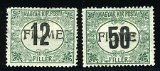 FIUME ITALY SCOTT# J2c, J3a MINT HINGED AS SHOWN