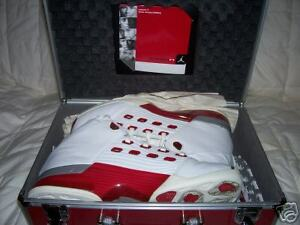 Men-039-s-NIKE-AIR-JORDAN-RETRO-17-White-Varsity-Red-302720-161-SZ-10-5