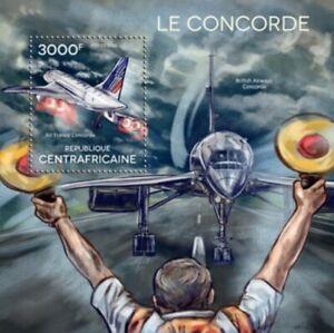 Republica-Centroafricana-2014-El-Concorde-Yvert-Coleccion-N-759-Nueva-MNH