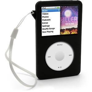 Black-Silicone-Skin-Case-for-Apple-iPod-Classic-80gb-120gb-160gb-Cover-Holder