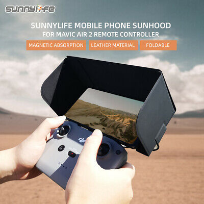 Sunnylife Accessories Remote Controller Mobile Phone Holder with Full Screen Sun Hood for DJI Mavic Air 2//Mavic Mini//Mavic Pro//Mavic 2//Mavic Air//Spark