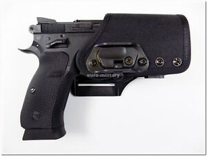 "/""Thumb Saver/"" CZ 75 85 9MM-40 Cal ** BLACK ** Speedloader Speed Loader"