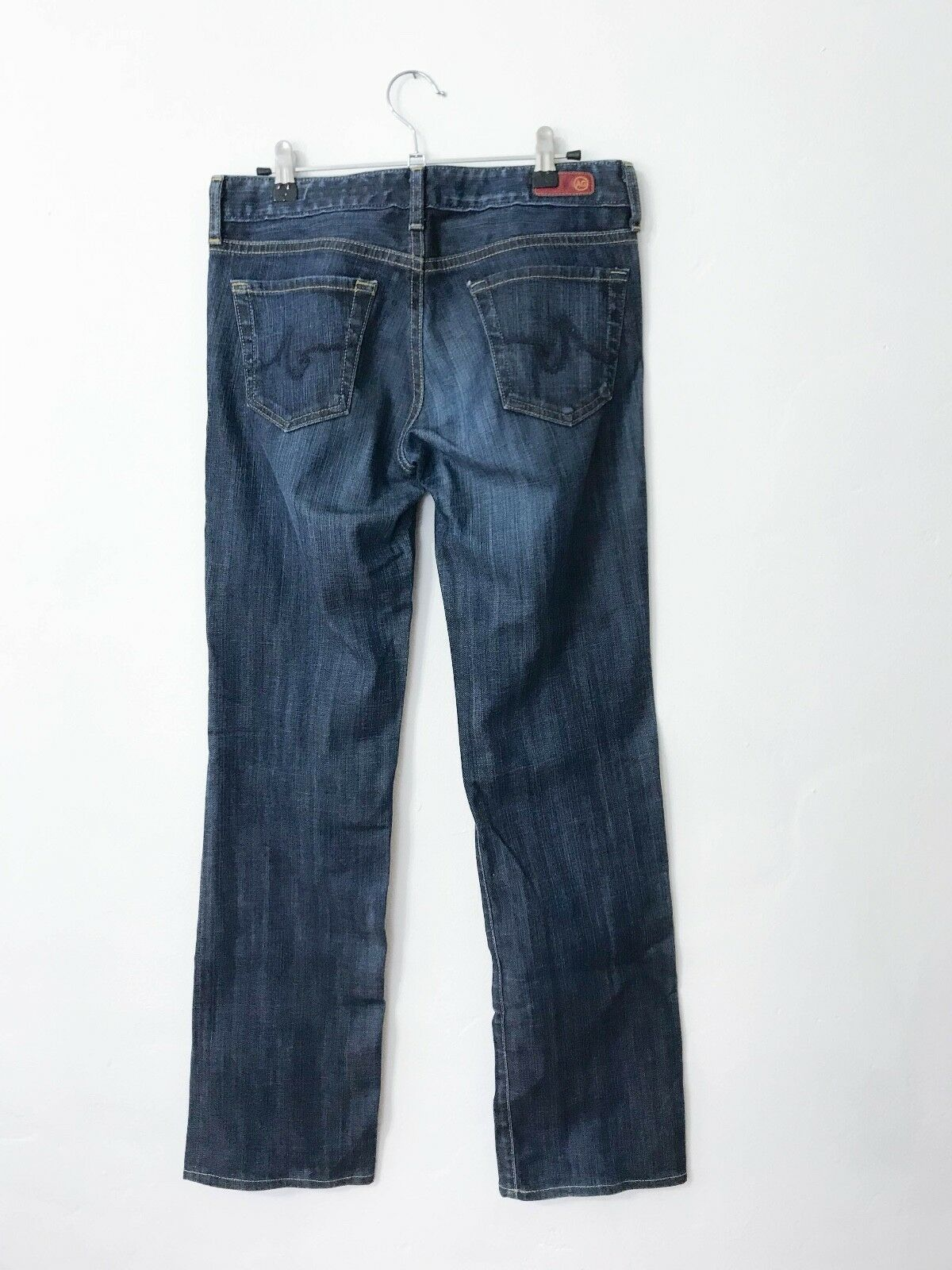 AG Adriano goldschmied The Soiree Low Rise Straight Leg Jeans - Size 27R