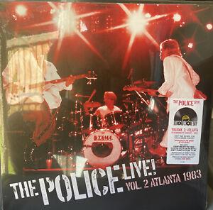 The Police, Live Vol.2 Atlanta 1983, NEW/MINT Ltd edition 2x RED vinyl LP RSD 21