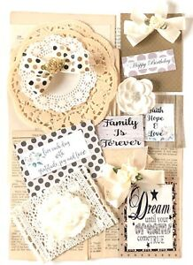 Junk-Journal-Supplies-Scrapbooking-Supplies-Vintage-Pages-Tags-75-Items