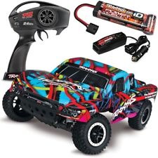 NEW Traxxas Slash 2WD RTR Short Course Truck w/QUICK CHARGER - HAWAIIAN EDITION