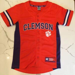 clemson baseball jersey youth