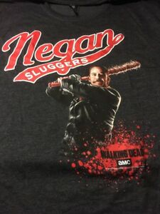 The-Walking-Dead-NEGAN-SLUGGERS-Loot-Crate-Exclusive-Adult-XXL-T-Shirt