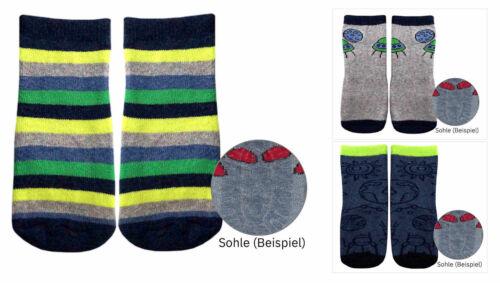 3 Paar Stoppersocken Antirutsch Thermo Fliesenflitzer ABS Socken Baby Kinder