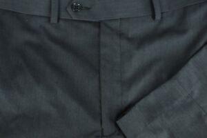 Hosen Intellektuell Tallia Uomo Herren Grau Polyester Viskose Glatt Vorne Anzughose 36 X 32 Ungleiche Leistung