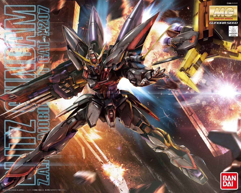 Bandai MG 1 100 GAT-X207 GUNDAM SEED SEED SEED Blitz Gundam MODEL KIT 4543112757029 35ee75