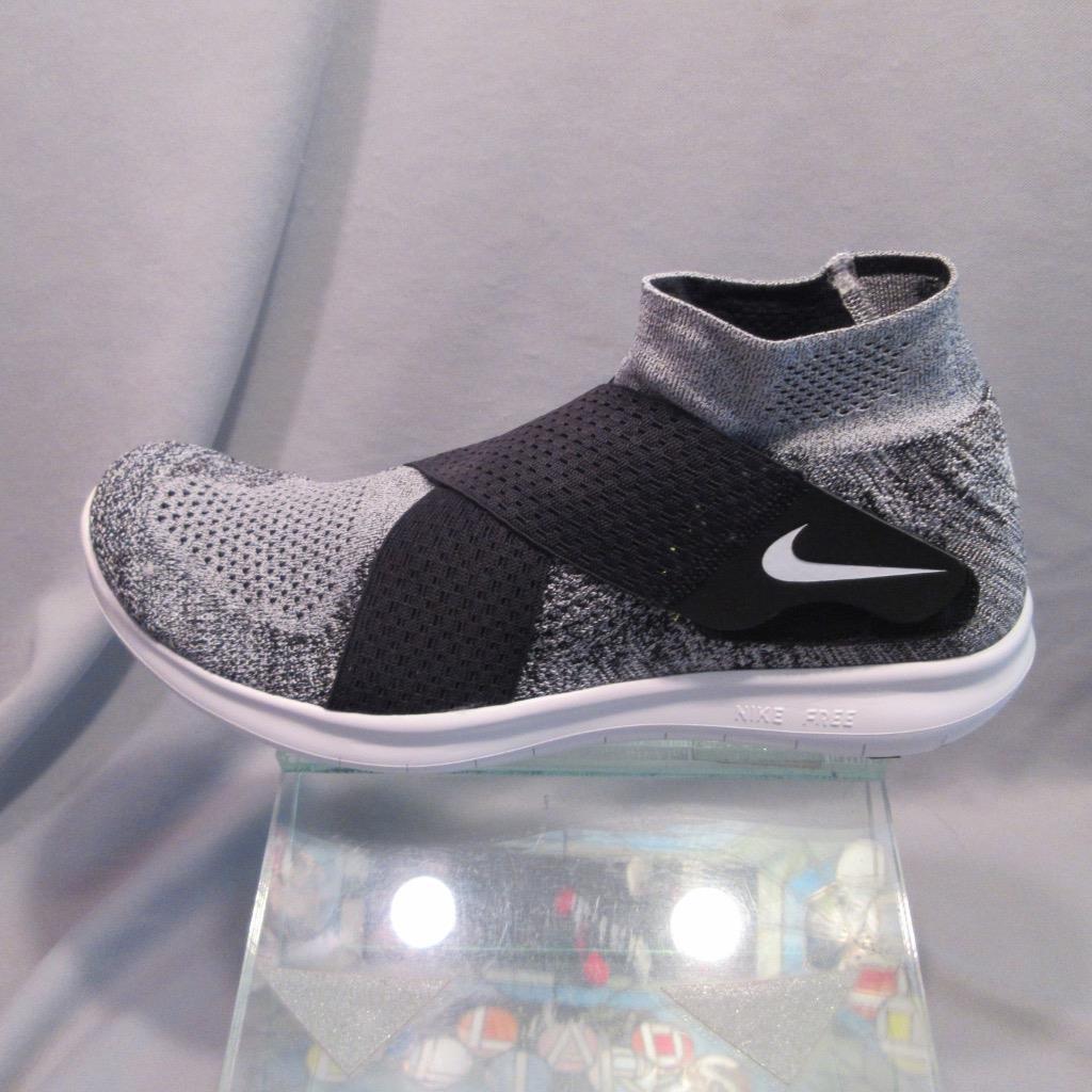 Nike Free RN Motion FK 2018 Flyknit Running Shoe 880845 001 Gray Mens size 12 Seasonal clearance sale