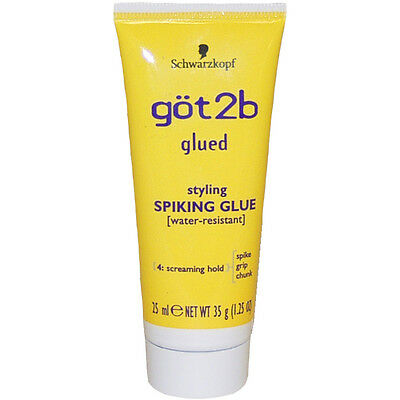 Glued Styling Spiking Water Resistant Glue by Got2b for Unisex - 1.25 oz Glue