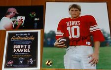 GREEN BAY PACKERS BRETT FAVRE 10 AUTOGRAPHED Hancock High School 8x10 PHOTO COA