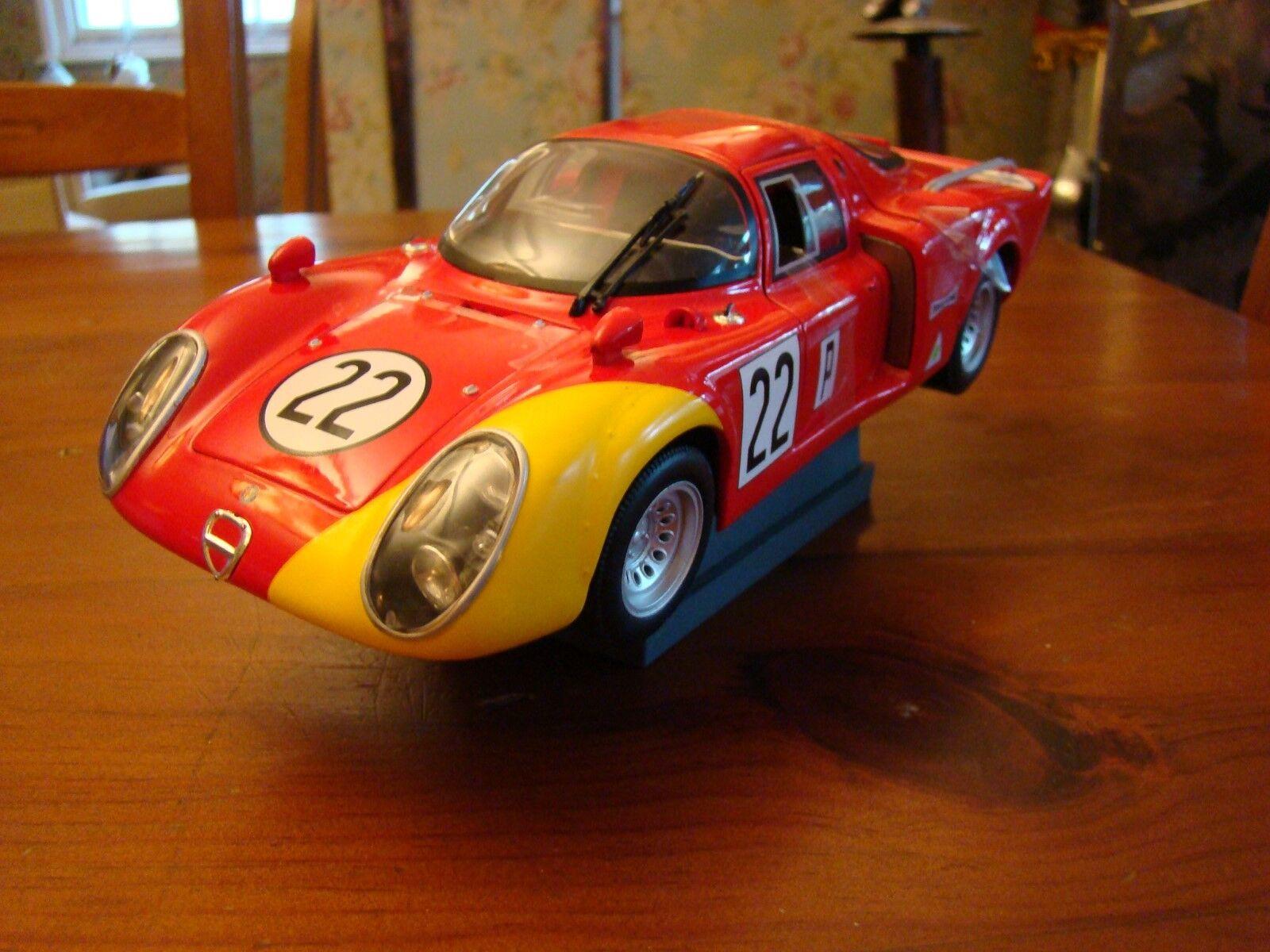 1 18 Alfa Romeo 33.2 Daytona V8 1968 Autodelta Casoni Biscaldi Winner