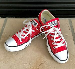 red converse womens size 5