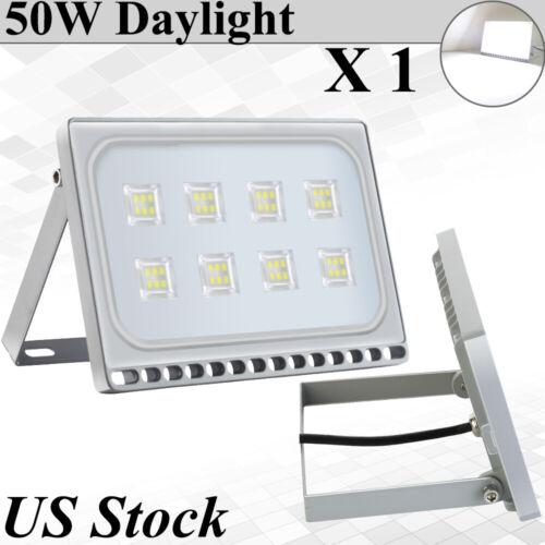 50W LED Flood Lights Daylight Outdoor Lighting Garden Security Street Lamp