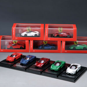 ACE-1-64-Ferrari-ENZO-Diecast-Simulation-Supercar-Car-Model-Collection