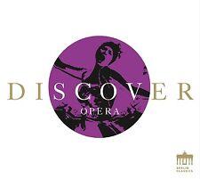 Adam/Prey/Fricke/stradalidi/+ - Discover opera CD NUOVO Puccini/VERDI/MOZART/Wagner