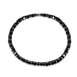 "MAG08 6mm Round 16/"" string x Magnetic Hematite Beads"