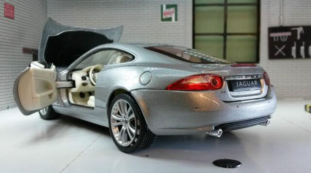 Jaguar XK Coupe grün Welly 1:24 skala-modelle detaillierte innen Modellauto