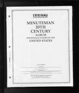 Scott Minuteman United States 20th Century Stamp Album