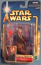 Star Wars AOTC Shaak Ti Jedi Master '02 #10 w/ lightsaber MOC, new by Hasbro