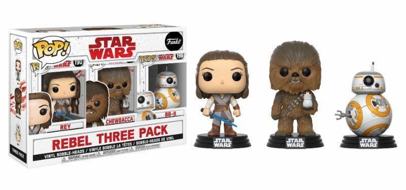Funko POP  Star Wars - Rey Chewbacca & BB-8  26487