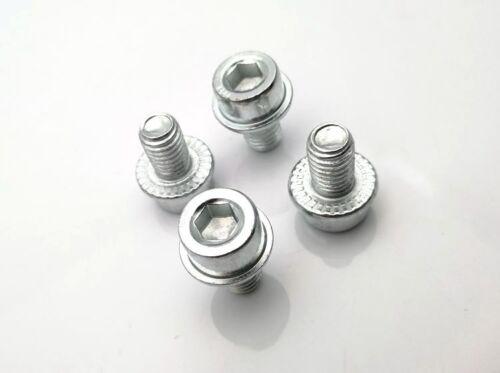 10pcs M5 M6 allen flange head bolt screw toothed washer anti-slip bolts screws