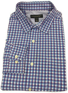 Banana-Republic-Soft-Wash-Shirt-Large-Mens-Long-Sleeve-Button-Down-Plaid-Size-L