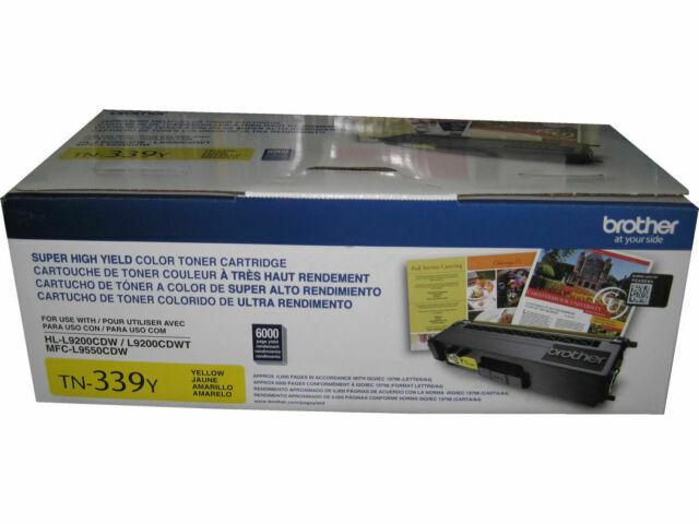 Brother Genuine TN339BK Super High Yield Black Toner Cartridge