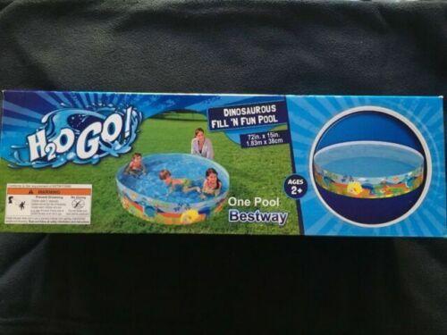 H2OGO 8 Dinosaurous Fill-N-Fun Kiddie Swimming Pool