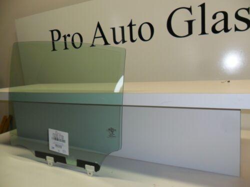 Left Driver Side Rear Door Window Glass for a 2012-16 Nissan Versa Sedan 4-Door