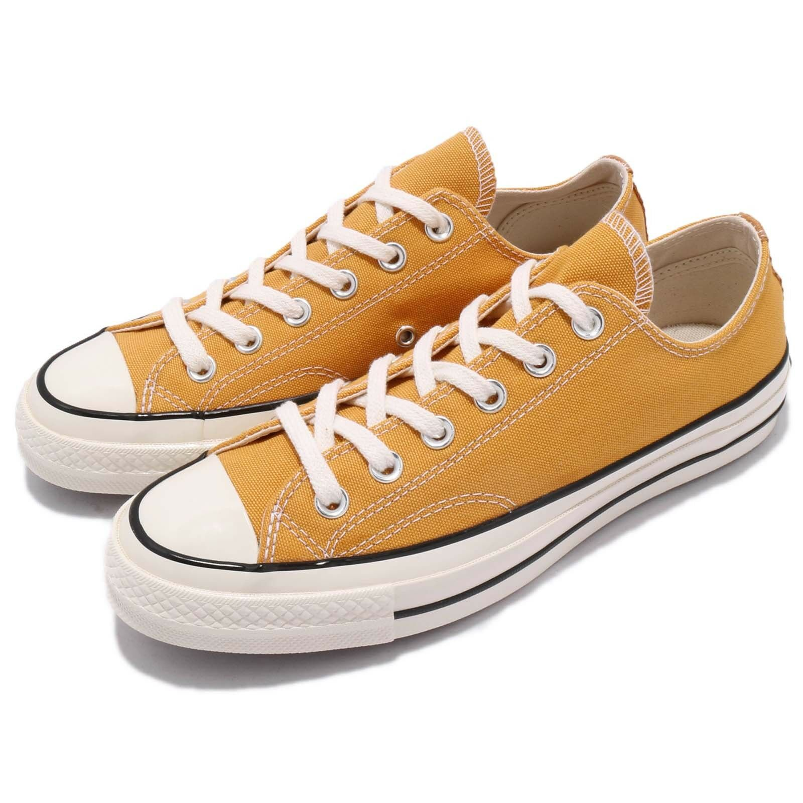 Converse First String Chuck Taylor All Star 1970s Yellow Uomo Donna Shoes 162063C