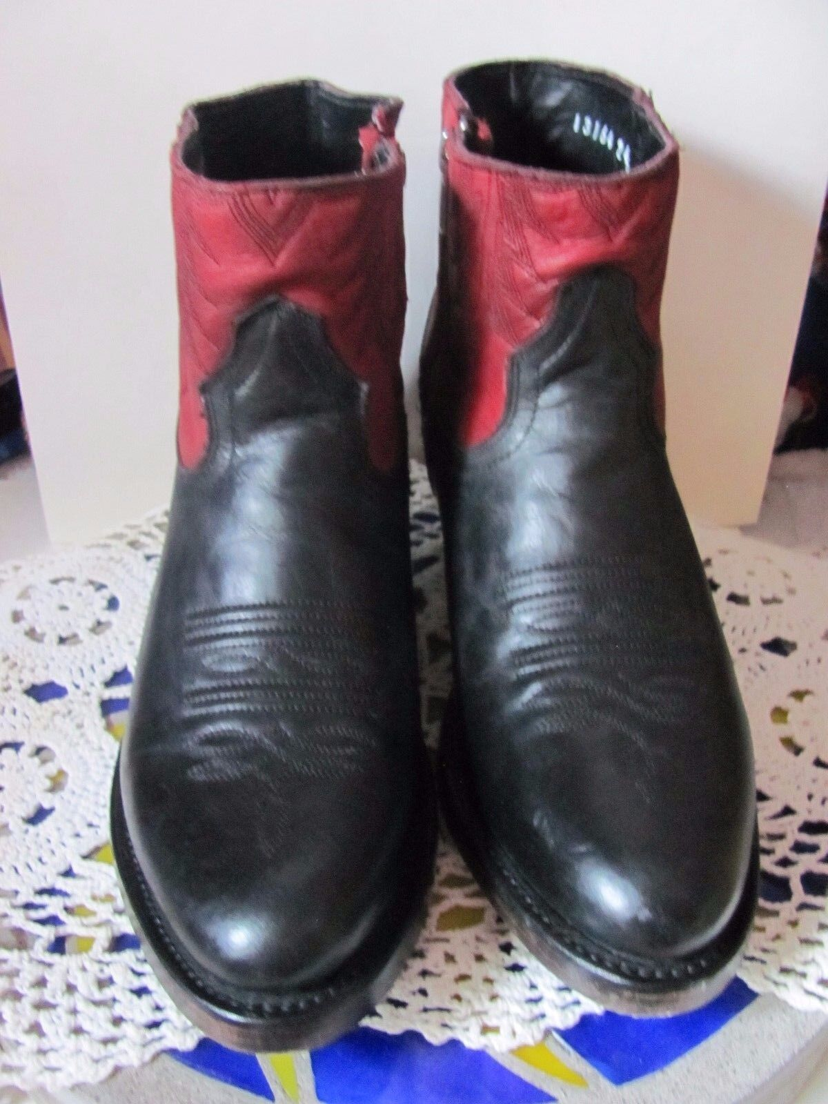 Ash Italia Handmade  Mexican Western Booties Brand New All Genuine Leather Sizes