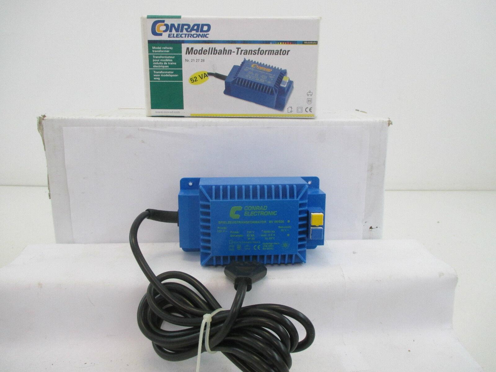 Conrad 212728 high-performance transformer BV 00 026 52va Transformer wt6830