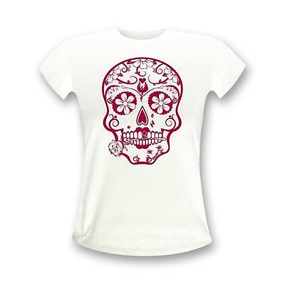 Frauen Handabdruck Palm Hand Print Mexico Mexiko Flag Fahne V-T-Shirt