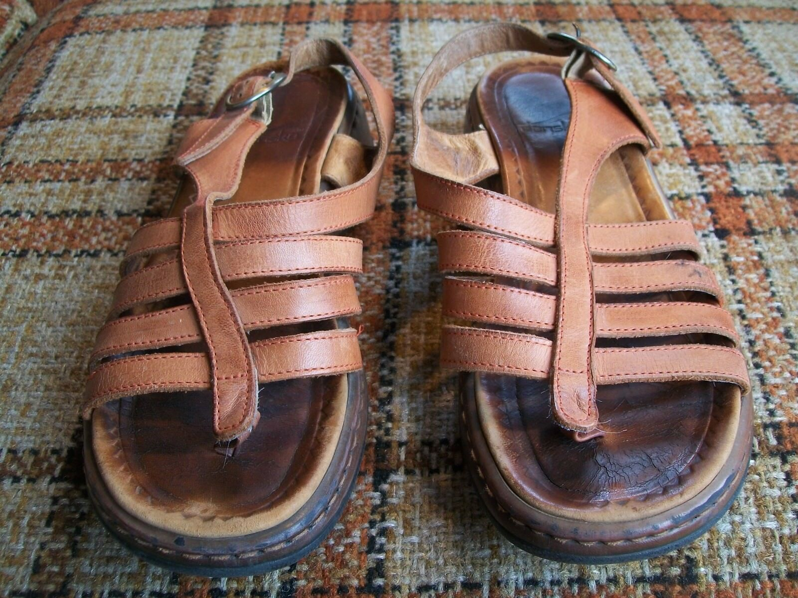 Dansko Womens Size 6.5-7 Strappy () Brown Strappy 6.5-7 Sandals 9c47f7