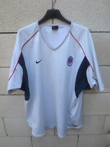 Maillot-PARIS-SAINT-GERMAIN-PSG-vintage-NIKE-training-shirt-maglia-camiseta-XL