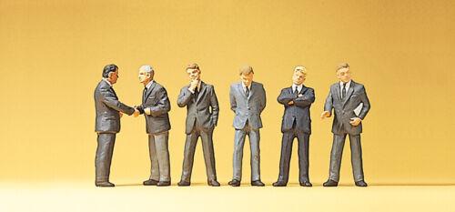 Preiser H0 10380 Figuren-Set Geschäftsleute 1:87