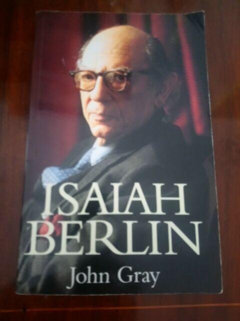 John Gray Isaiah Berlin edizione in lingua inglese